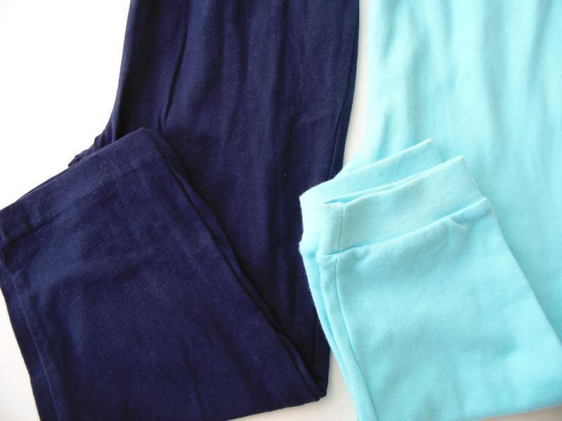 Набор 2 штанов пижама низ штаны 2-3 года george primark - Фото 2