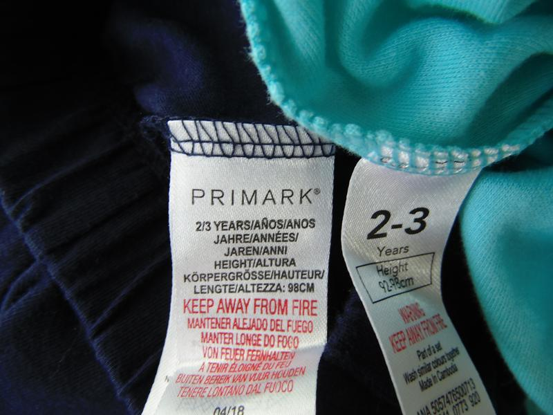 Набор 2 штанов пижама низ штаны 2-3 года george primark - Фото 3