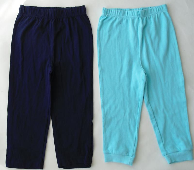Набор 2 штанов пижама низ штаны 2-3 года george primark - Фото 4