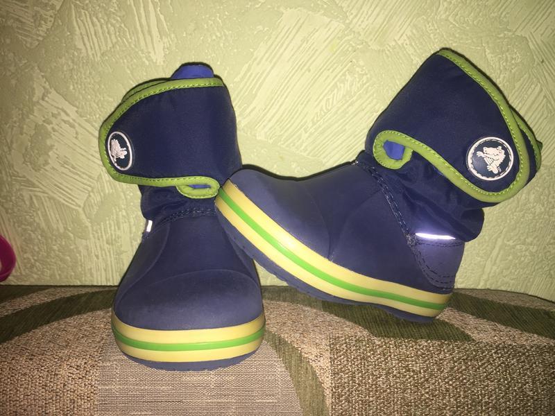 Сапожки crocs оригинал с6