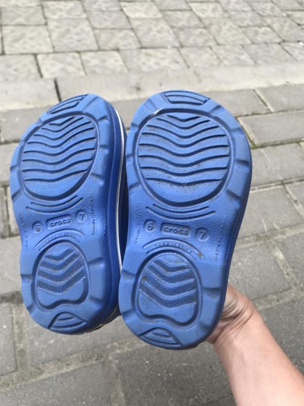 Резиновые сапожки crocs оригинал с6-7 - Фото 5