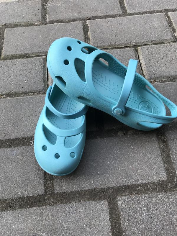 Балетки crocs оригинал j1 - Фото 4