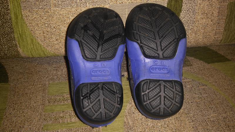 Кроссовки мокасины ботинки crocs оригинал с 4 - Фото 5