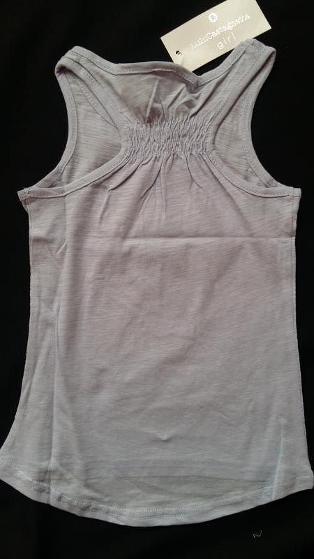 Майка/футболка lulu castagnette (франция) на 5-6 лет - Фото 2
