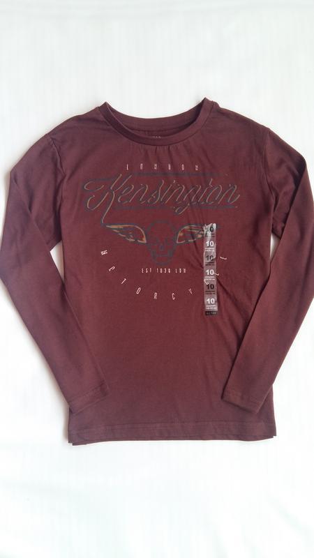 Реглан/лонгслив/футболка kiabi (франция) на 9-10 лет (размер 1... - Фото 3