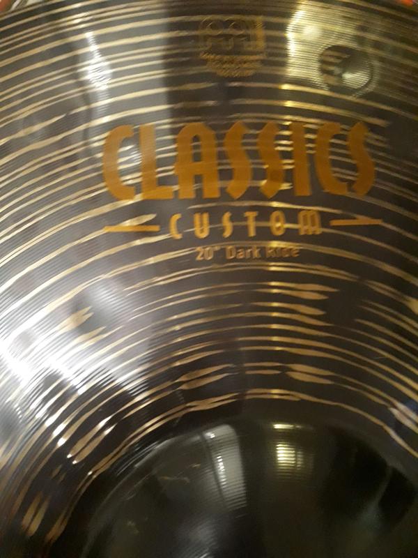 "Барабанная тарелка MEINL CLASSICS CUSTOM DARK Ride 20"" - Фото 2"