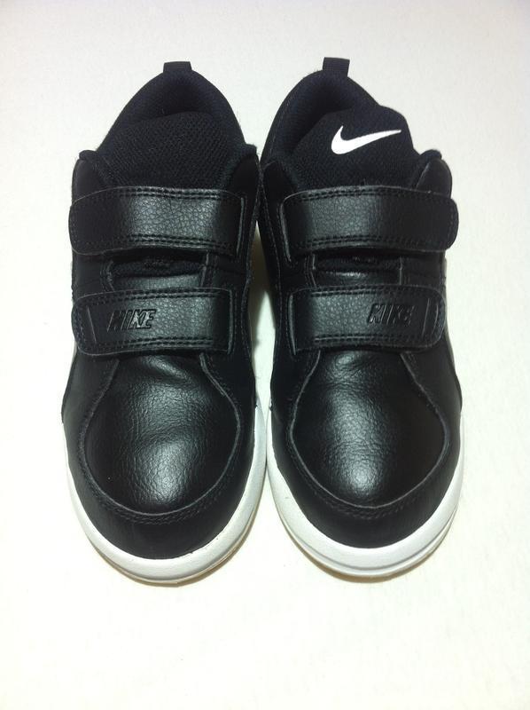 Стильные кожаные кроссовки nike 👟 размер 33 - 33,5 оригинал ❗❗❗ - Фото 4