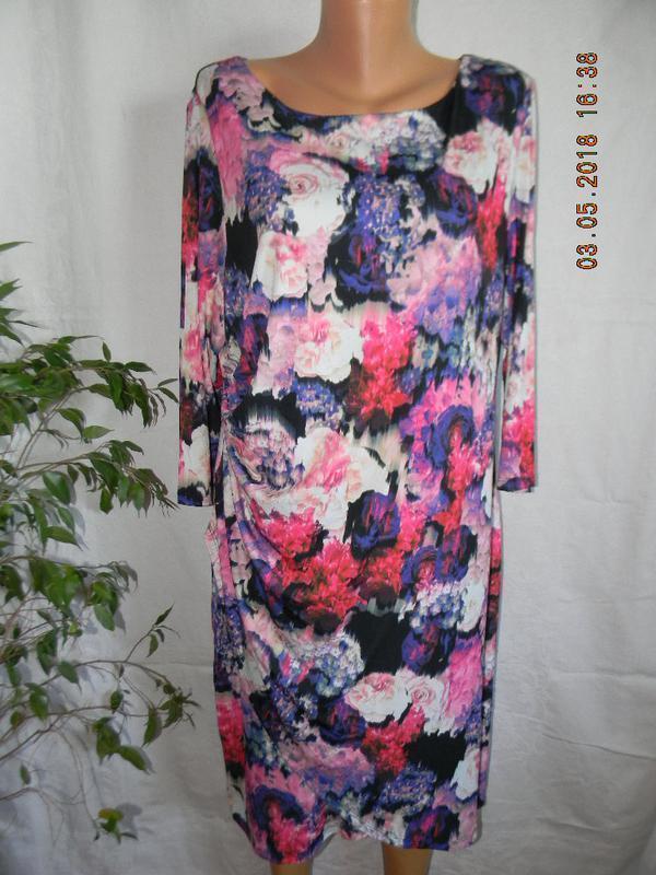 Красивое платье большого размера - Фото 5