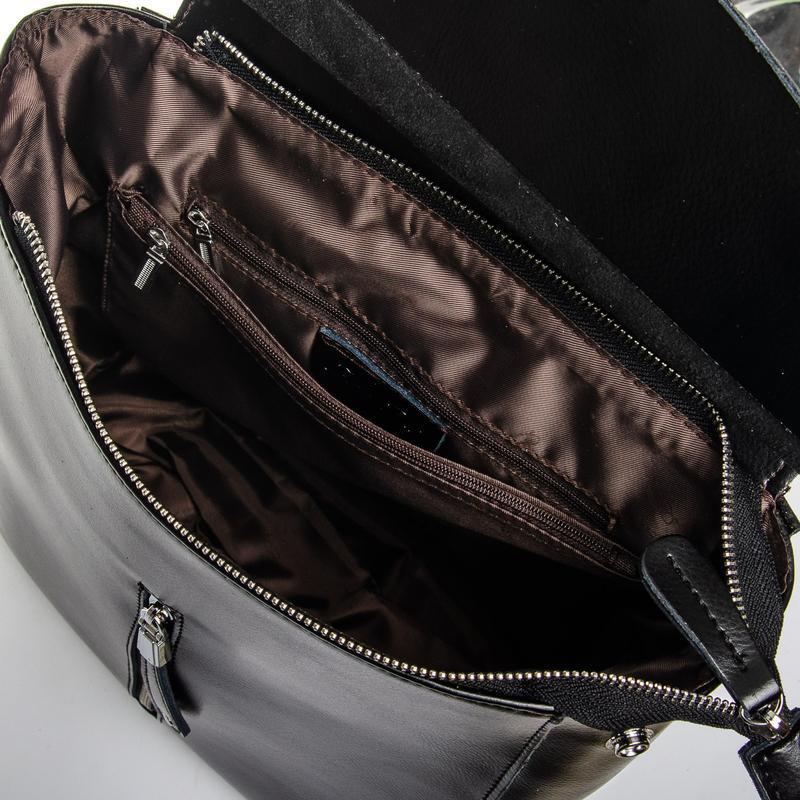 Сумка женская рюкзак кожа - Фото 2