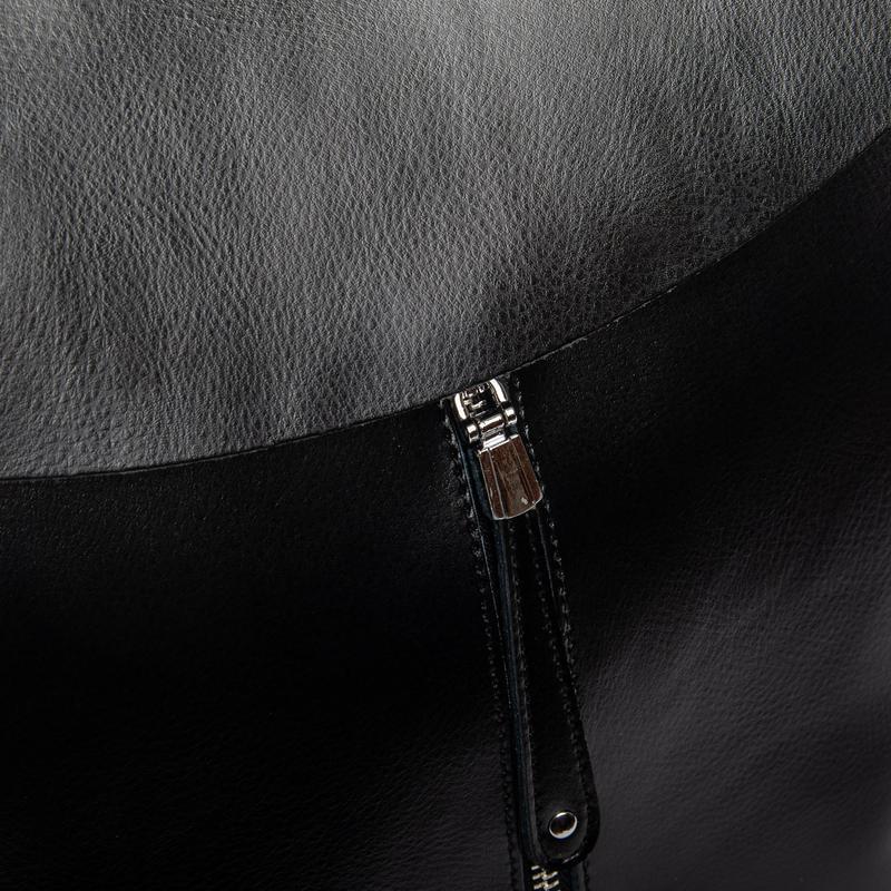 Сумка женская рюкзак кожа - Фото 3