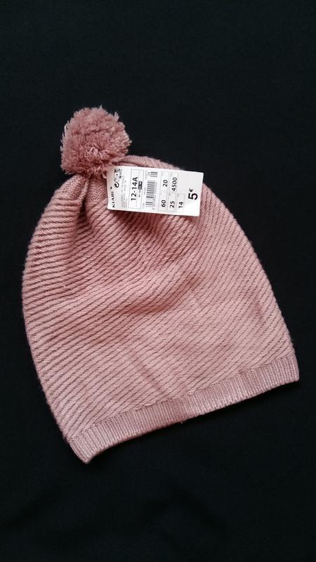 Демисезонная шапка kiabi  (франция) на 12-14 лет