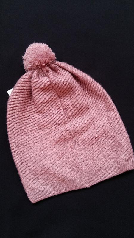 Демисезонная шапка kiabi  (франция) на 12-14 лет - Фото 3