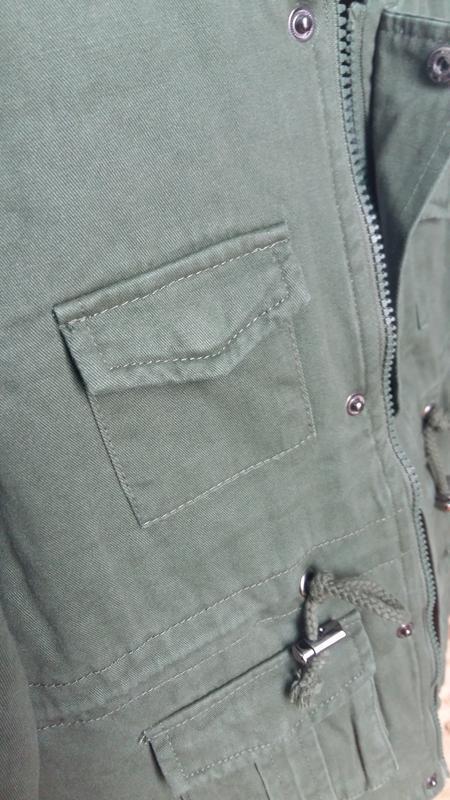 Парка/куртка street gang (италия) на 4-5 лет (размер 104-110) - Фото 4