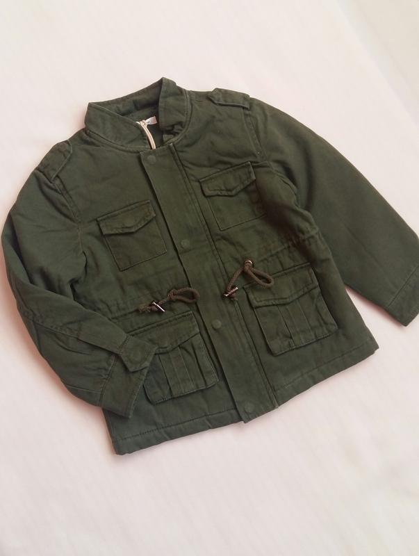 Парка/куртка street gang (италия) на 4-5 лет (размер 104-110) - Фото 5