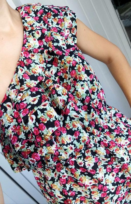 Невероятно женственное платье в цветочный принт от французског... - Фото 3