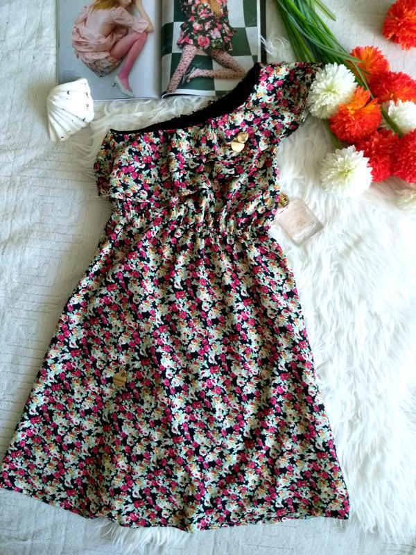 Невероятно женственное платье в цветочный принт от французског... - Фото 5