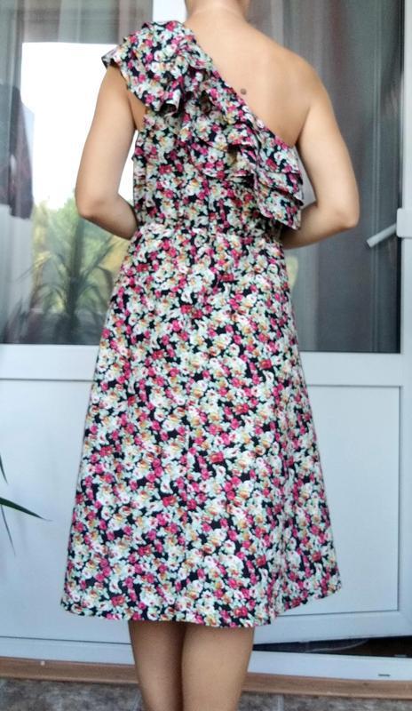Невероятно женственное платье в цветочный принт от французског... - Фото 6