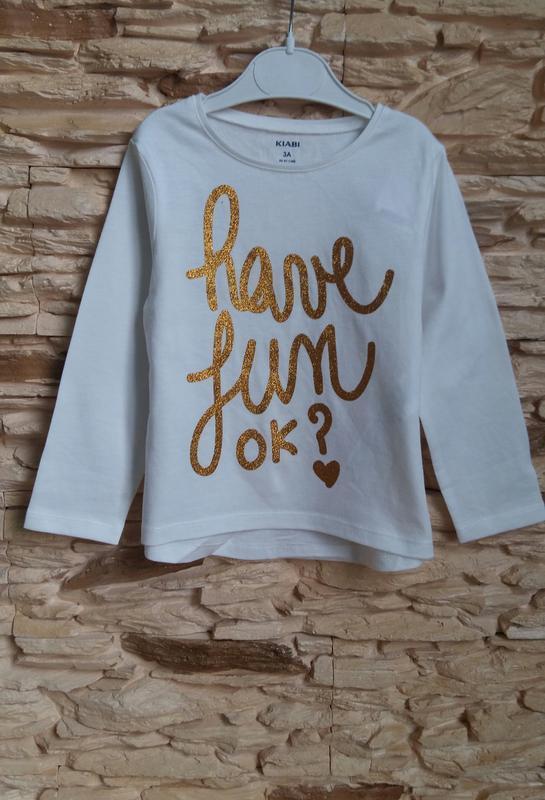 Реглан/лонгслив/футболка kiabi (франция) на 2-3 годика (размер... - Фото 2