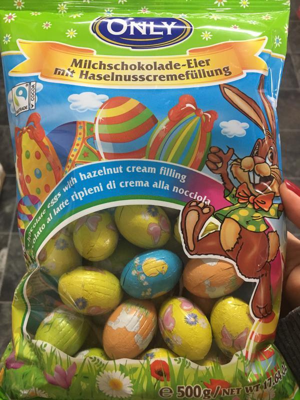 Шоколадні яйця до Великодня Only, Baron