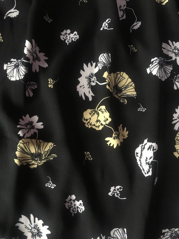Полностью новое платье цветочный принт прямой крой - Фото 2