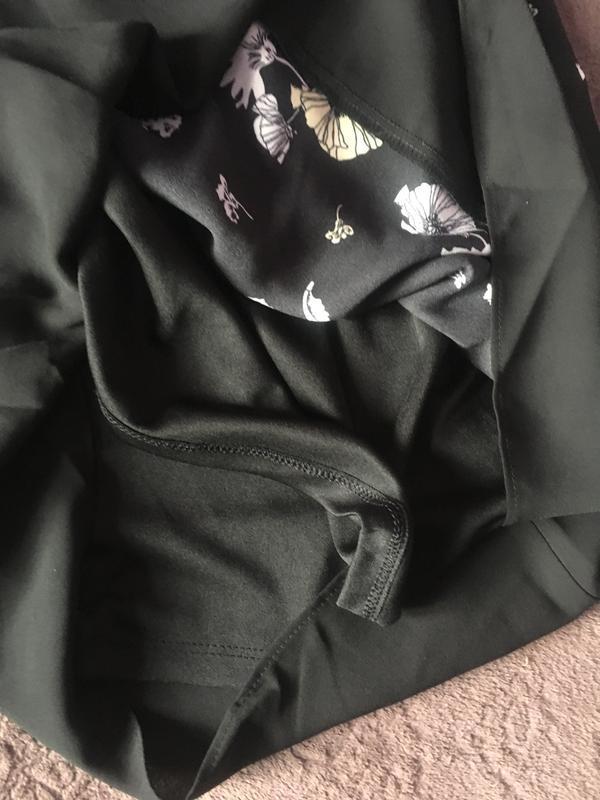Полностью новое платье цветочный принт прямой крой - Фото 4