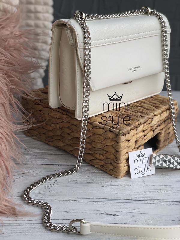Сумка на длинной ручке cross-body сумочка трендовая и стильная... - Фото 5