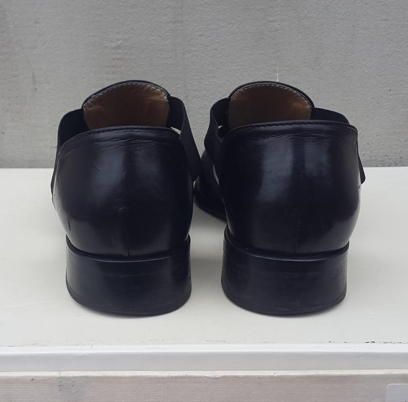 Кожаные туфли босоножки 37р. - Фото 3