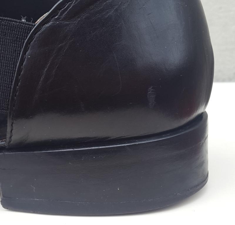 Кожаные туфли босоножки 37р. - Фото 4