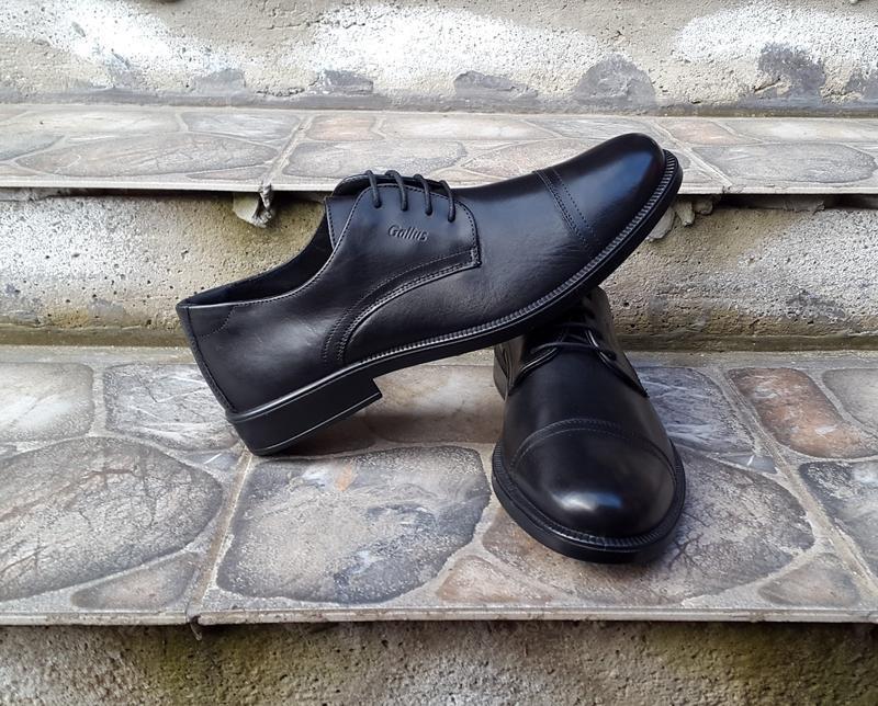 Кожаные туфли  gallus 44 р. оригинал