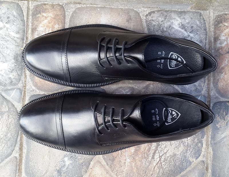 Кожаные туфли  gallus 44 р. оригинал - Фото 5