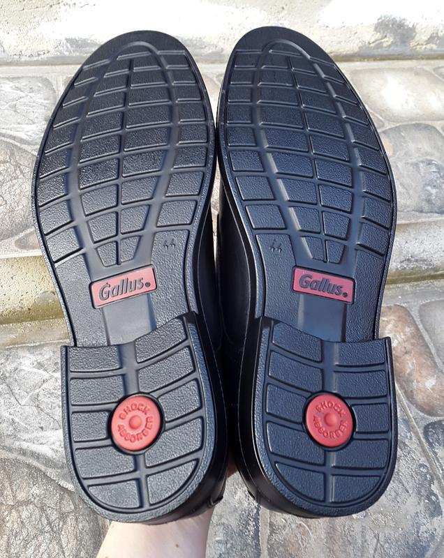 Кожаные туфли  gallus 44 р. оригинал - Фото 7