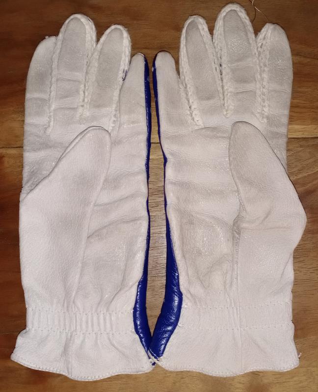 Кожаные перчатки, винтаж - Фото 2