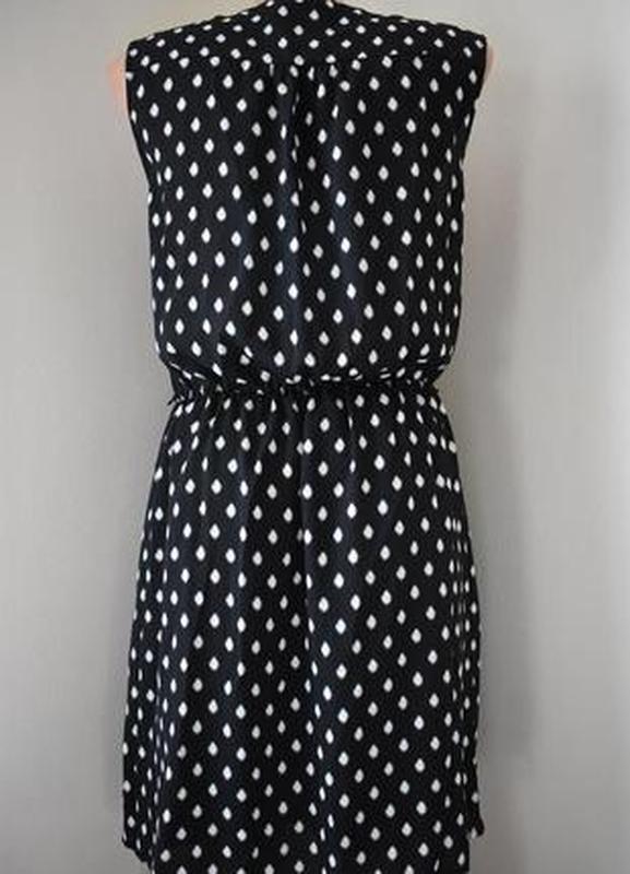 Красивое платье с принтом h&m - Фото 3