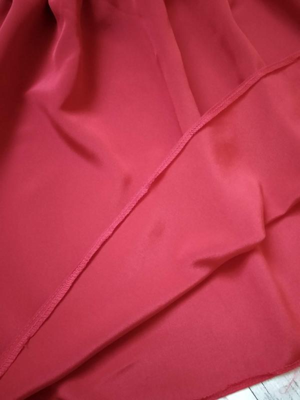 Нарядное красное платье на девочку 6-8 лет - Фото 6