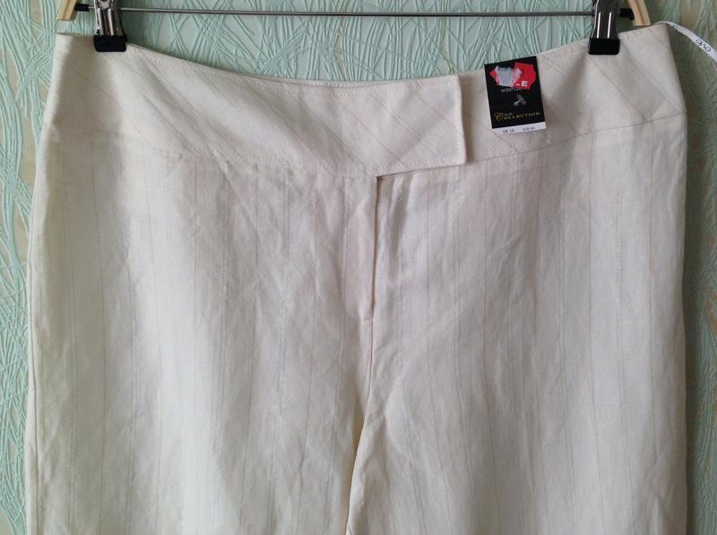 Распродажа! - летние брюки *e-vie collection* 16 р. - лен+вискоза - Фото 2