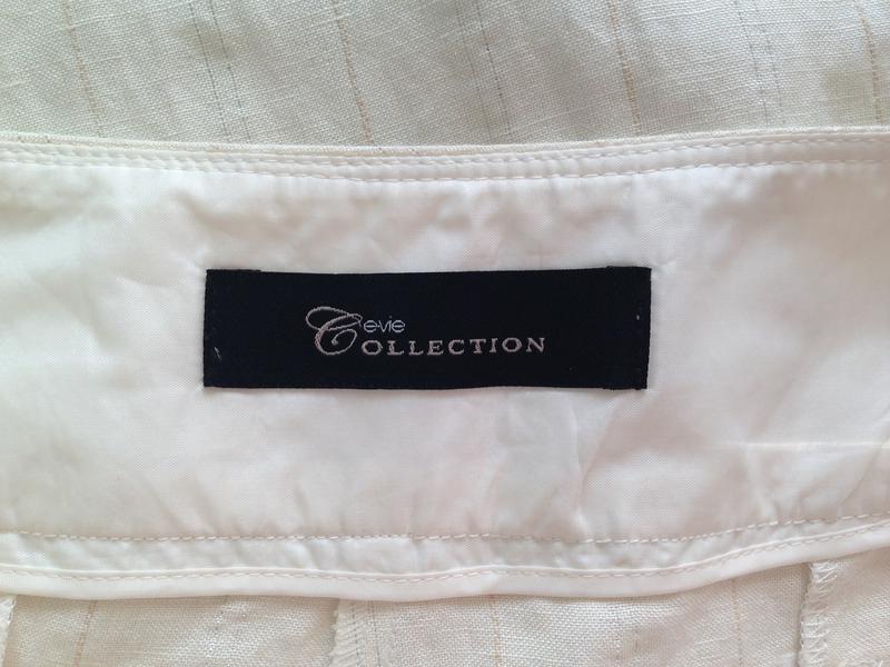 Распродажа! - летние брюки *e-vie collection* 16 р. - лен+вискоза - Фото 4