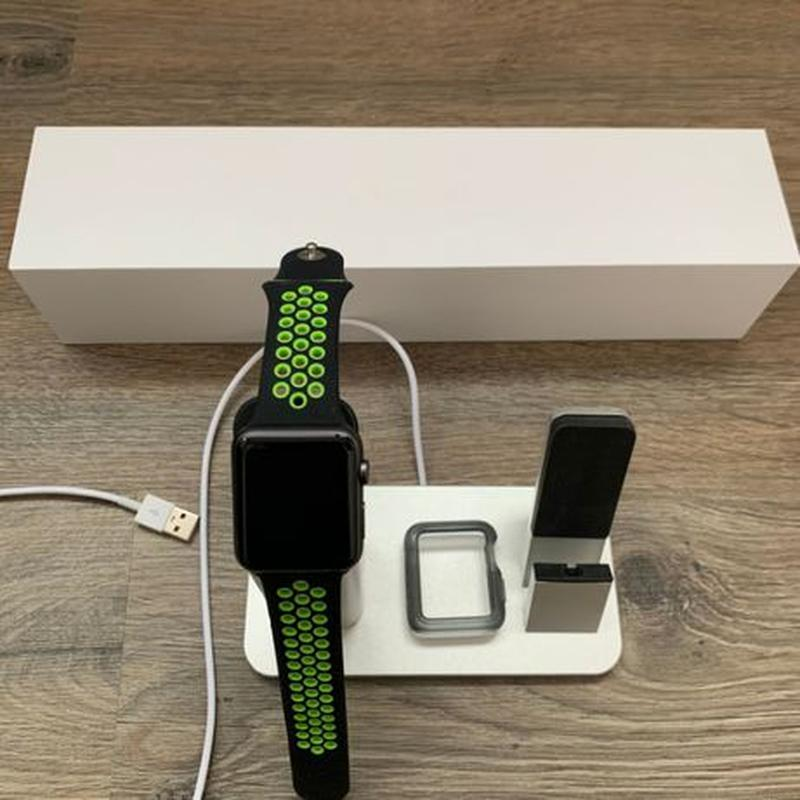 Apple Watch sport 42mm 7000 series Space Gray + бонусы - Фото 2