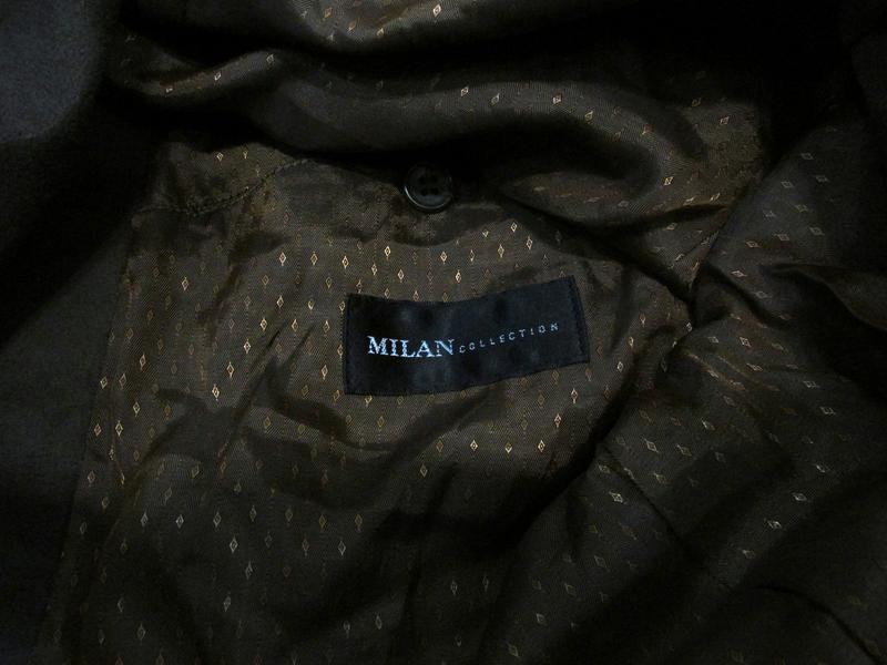 Пиджак milan collection, 50r, polyester (велюр), коричневый, о... - Фото 2