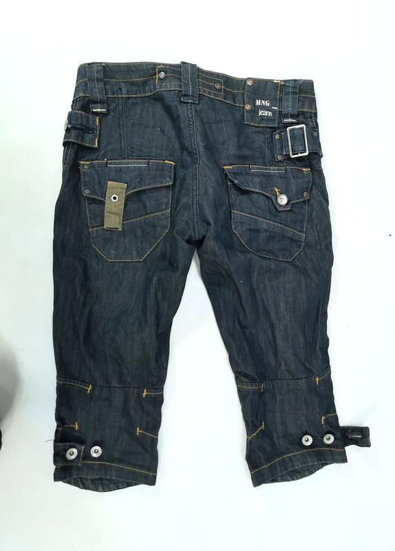 Шорты стильные mng, джинсовые - Фото 3