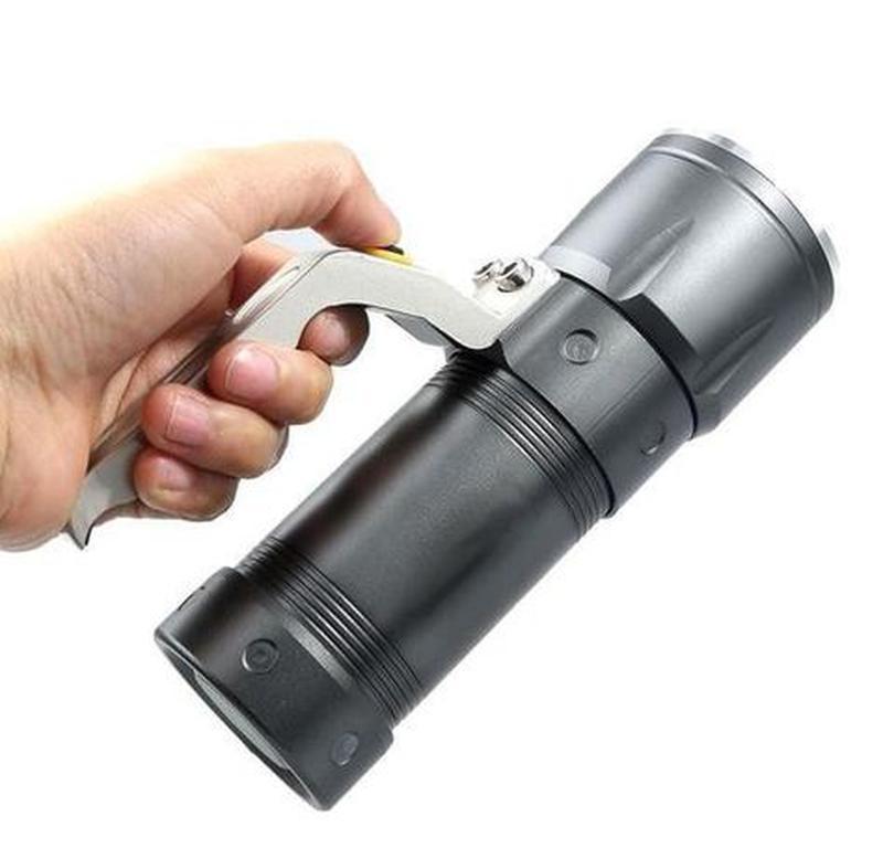 МОЩНЫЙ Фонарь-прожектор Police BL-T801(3406-T6) ручной фонарик