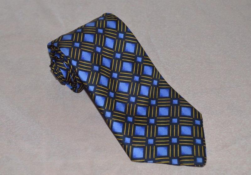 Брендовый галстук items англия шелк