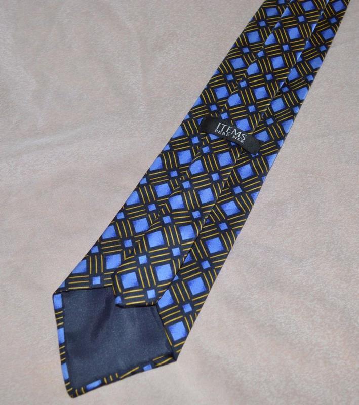 Брендовый галстук items англия шелк - Фото 3