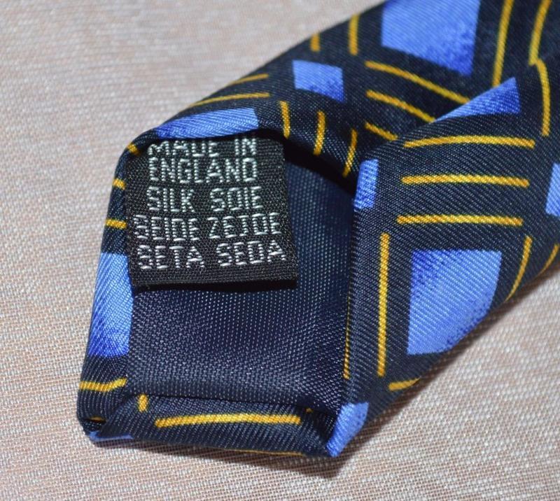 Брендовый галстук items англия шелк - Фото 4