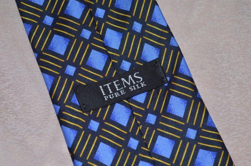 Брендовый галстук items англия шелк - Фото 5