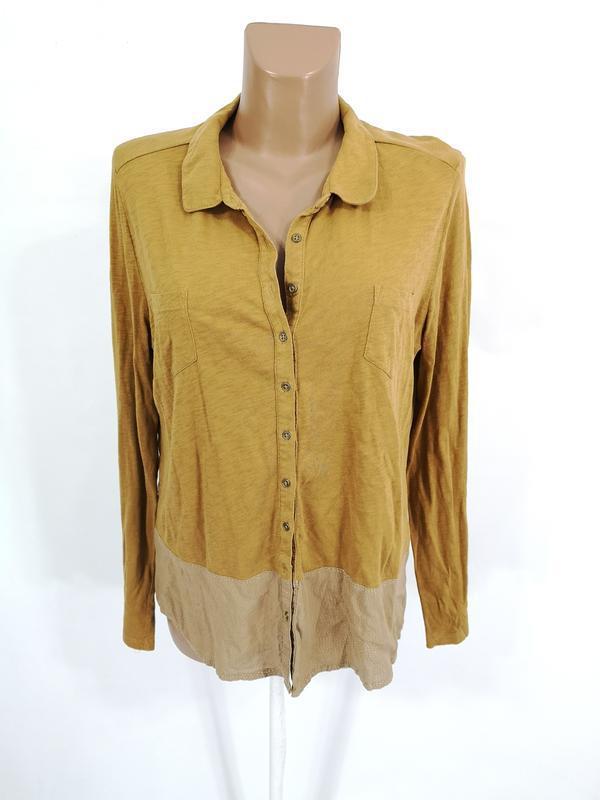 Блузка стильная white stuff, коричневая