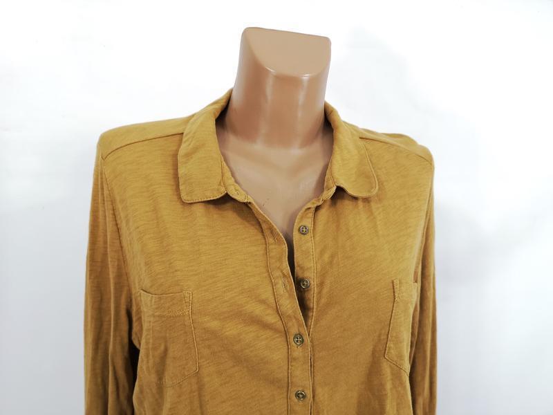 Блузка стильная white stuff, коричневая - Фото 2