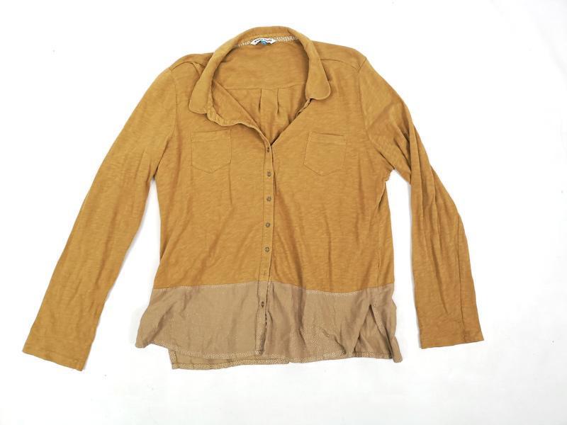 Блузка стильная white stuff, коричневая - Фото 4