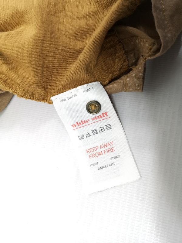 Блузка стильная white stuff, коричневая - Фото 7