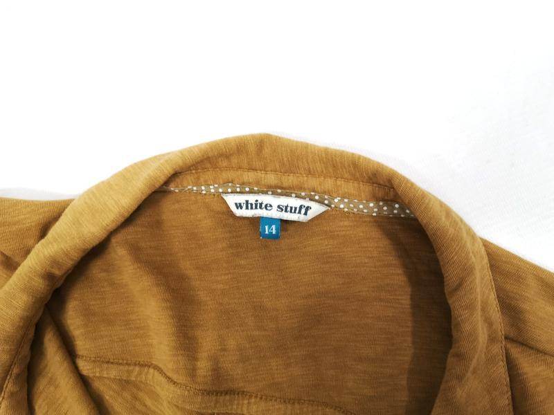 Блузка стильная white stuff, коричневая - Фото 8