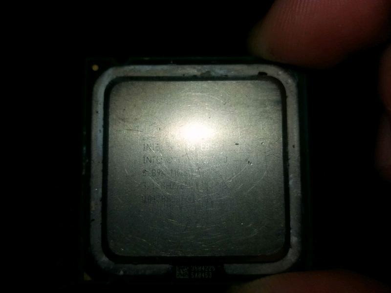 Процессор intel core 2 duo e8500 775 сокет